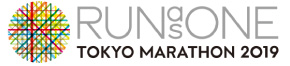 RUNasONE TOKYO MARATHON 2019のロゴ